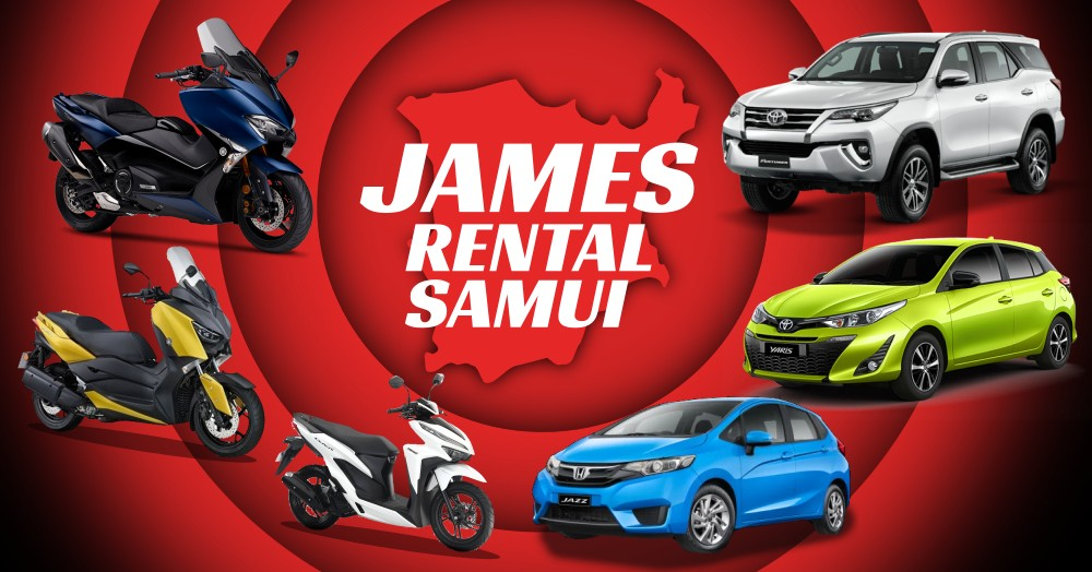 James Rental Samui - Rent a Motorbike or a scooter to